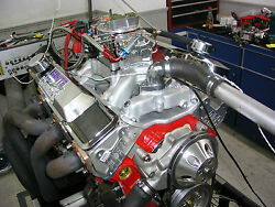 SBC Chevy 383 STROKER ENGINE 562HP Crate Motor