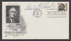 Stanley F. Reed, Us Supreme Court Justice, Signed 6c Fdr Fdc