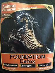 Animal Element Foundation Detox 12# Refill Bag Special Pricing!!!