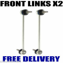 Fits Skoda Fabia 2000-2007 Front Stabilizer Link Bar Left And Right Drop Links X2
