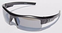 UNDER ARMOUR Igniter Sunglasses Satin BlackGray NEW SportCycle $95