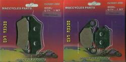 Husaberg Disc Brake Pads 350e 1993 Front And Rear 2 Sets