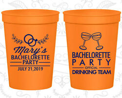 Bachelorette Party Cups Cup Favor 60017 Official Drinking Team Cocktail Girls