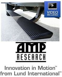 Amp Research Plug-n-play Power Steps 17-19 Ford Super Duty Supercab Supercrew