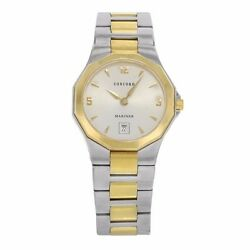 Brand New Womenand039s Concord Two-tone Stainless Steel Quartz Wristwatch-0311395