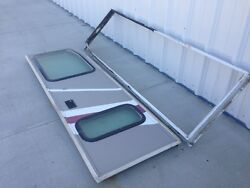 00 American Allegiance Class A Pusher Diesel Motorhome Used Right Entrance Door