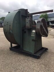 Carrier 75-52 Exhaust Blower,mh-2033, Rpm 996, W/ Reliance 460v Xex Motor, 50hp