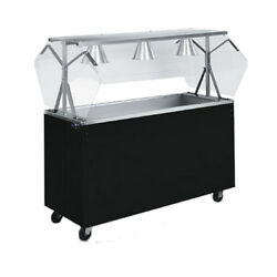 Vollrath 39773 46 Affordable Portable Solid Base Cold Food Station Cherry