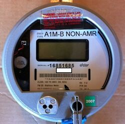 Elster Watthour Meter Kwh A1rl+ Fm2s 200a 120v-480v Zero Reset