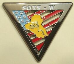 Op Inherent Resolve Special Operations Sotf-w Navy Seals Challenge Coin / Isis