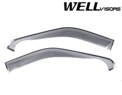 Wellvisors Side Window Visors Off Road Series For Ford Extended Cab 2009-2014