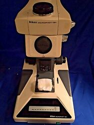 Nikon Microphot-sa Research Grade Upright Microscope, Stand Only