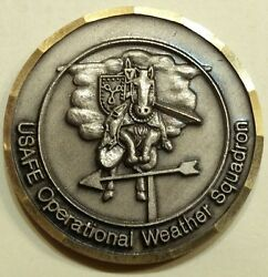 Operational Weather Squadron Us Air Forces In Europe Usafe Challenge Coin