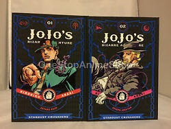 Jojo S Bizarre Adventure Stardust Crusaders Vol. 1-10 Hardcover Manga