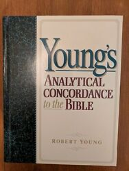 Young's Analytical Concordance To The Bible By Robert Young