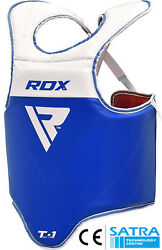 Rdx Mma Chest Guard Boxing Protector Body Armour Training Kickboxing Sports Os
