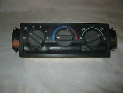 99-02 Chevy Silverado climate control wheater and AC GMC Sierra