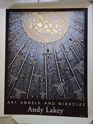 Andy Lakey Art, Angels, And Miracles Angel 804, Signed Print, 7/500, 19 X 25 In
