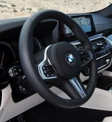 BMW G30 G11 G12 5 & 7 Series G01 M Sport Leather Steering Wheel Automatic Heated