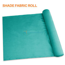 Turquoise Customize 12ft Diy Fabric Roll Shade Cloth Fence Windscreen Privacy Uv