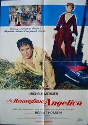 Angelique Et Le Roy And The King Italian 1f Movie Poster Michele Mercier Hossein
