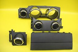 05-09 FORD MUSTANG DASH TRIM AIR VENT VENTS CLUSTER BEZEL MOLDING BLACK