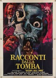 Tales From The Crypt Italian 4f Movie Poster 55x79 Horror Ec Comics 1972 Nm