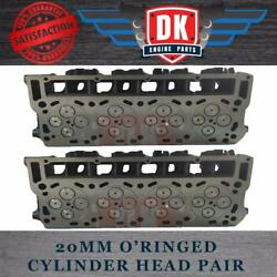 Ford Powerstroke 6.0l - New Oand039ring Cylinder Heads 2 Complete With Valve Train