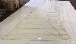 Dacron Mainsail By Uk Sailmakers - 40.9and039 Luff Fair Condition