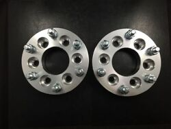 4x 1 Hubcentric Wheel Spacers Andbrvbar 6x120   66.9 Fits Chevy Canyon 6lug Adapters