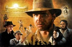 Indiana Jones Raiders Of The Lost Ark Covenant Egypt Indy Marion Fine Art Giclée