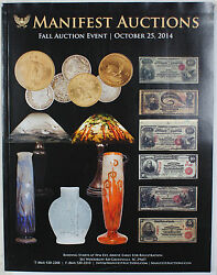 October 25 2014 Fall Auction Event Catalog Manifest Auctions A137