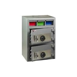 Blue Air BS3D2EE Money Manager Depository Safe with Electric or Combination Lock