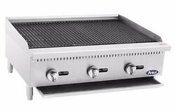 Atosa Usa Atrc Gas Heavy Duty Stainless Steel 24 36 48 Radiant Broiler
