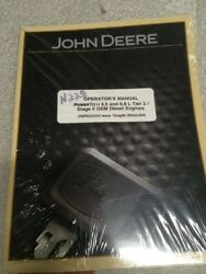 John Deere Operators Manual For Power Tech 4.5 And 6.8 L Tier / Stage 2