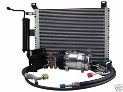 Underhood Ac Performance Kit 1967-68 Ford Mustang And Cougar 6 Cyl Polished