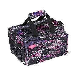 Bulldog Cases Deluxe Muddy Girl Camo Range Bag w Strap ~ BD910MDG