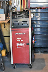 Snap-On ACT3000 Refrigerant RecoveryRecycling System WTank&Instructions
