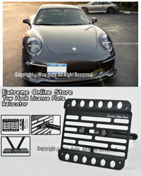 12-15 For Porsche C2 / C4 / Gts 911 Carrera No Pdc Front Tow Hook License Plate