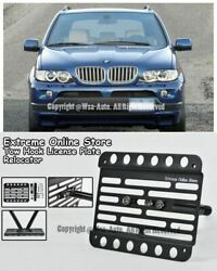 1999-2006 For Bmw E53 X5 Front Tow Hook License Plate Mount Bracket Relocator