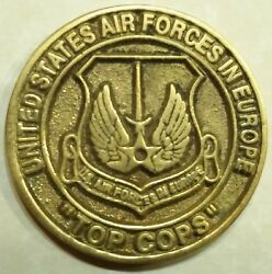 Best Security Forces Europe Usafe Top Cops Challenge Coin