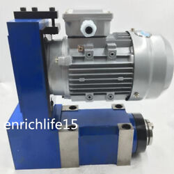 Mt4 Bt40 Er40 Spindle Unit 2000rpm Power Head 2.2kw Induction Motor Kit