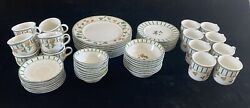 Casual Images By Lenox-7 Piece Place Setting Summer Terrace Discontinued Pattern