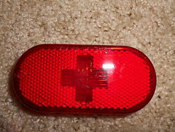 Vintage PM 108 15 SAE P 1A 70 Trailer Marker Lens Light Cover Cross Clearance $14.99