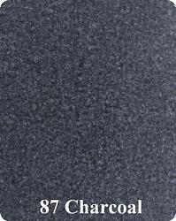 20 Oz Cut Pile Marine Outdoor Bass Boat Carpet - 8.5and039 X 30and039 - Charcoal Gray