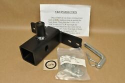 Nos Hitch Hopper Yamaha Atv Trailer Hitch Tow Receiver Mount Bracket And Hardware