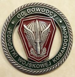 Polish Special Forces Grom Jwk Commander Col Kukula Military Challenge Coin