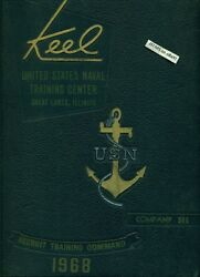 1968 U. S. Navy Basic Training School Yearbook, The Keel, 306, Great Lakes, Il