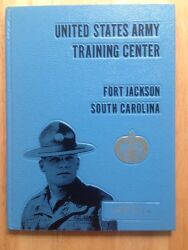1977 U.s. Army Basic School Yearbook, Co. D, 2nd Brg., 10th Bn, Fort Jackson, Sc