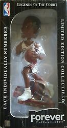 2003 Lebron James Rookie White Jersey Driving Bobblehead C. Cavaliers 'd/5000